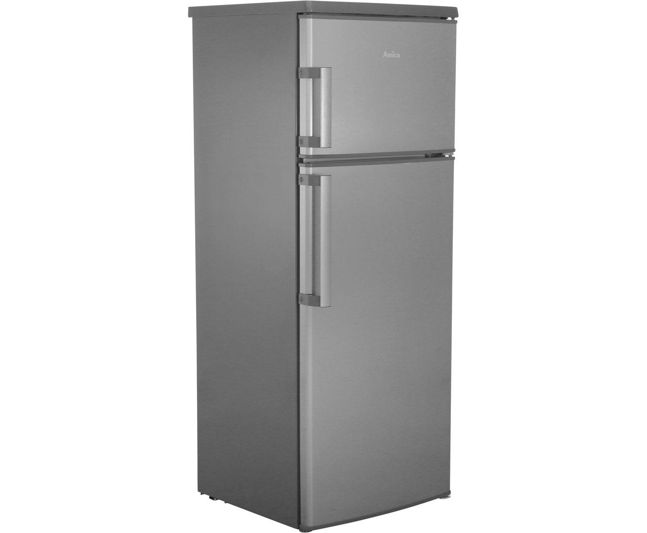 Amica Kühlschrank Fächer : Amica kgc e kühl gefrierkombination er breite edelstahl