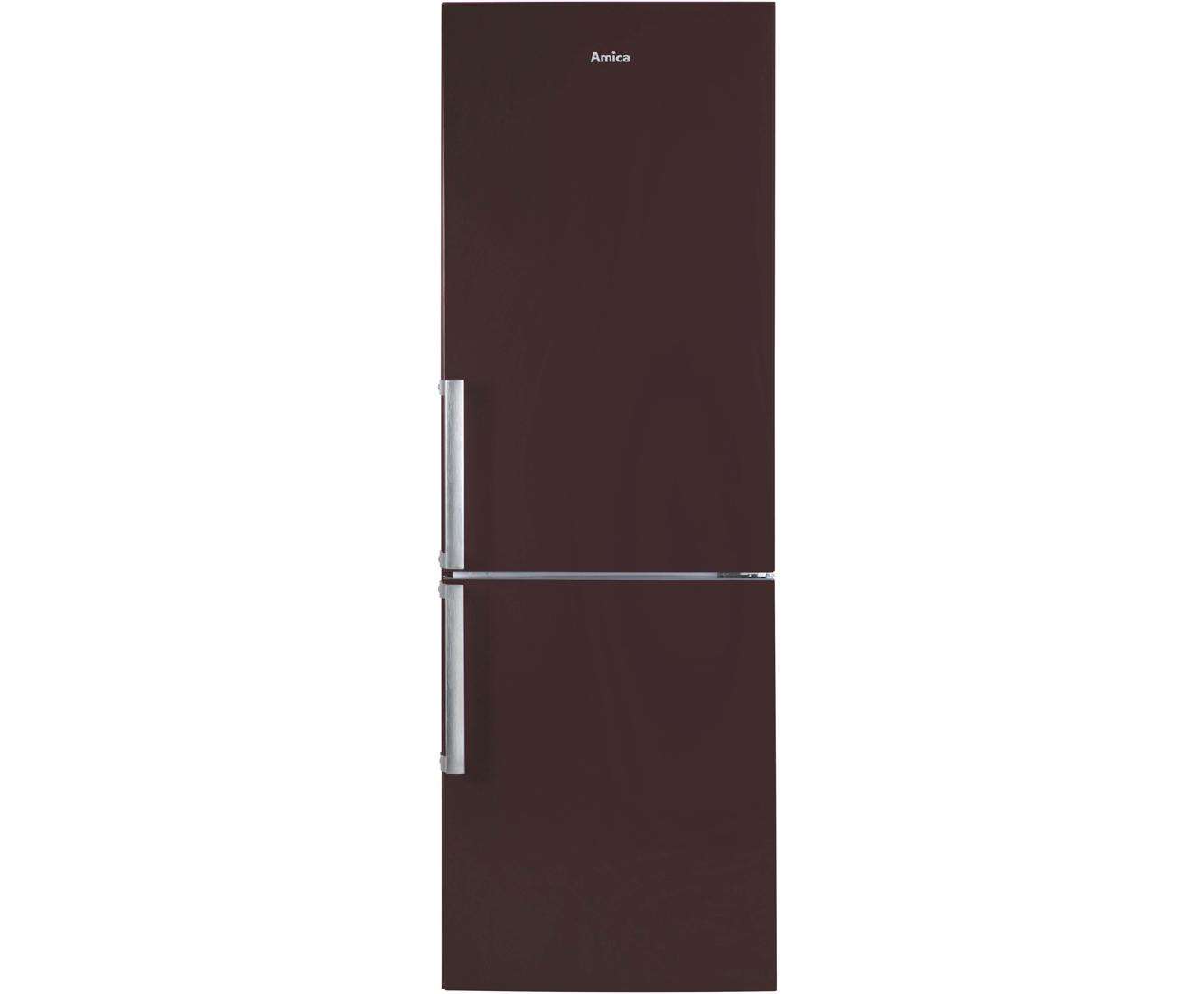 Amica Kühlschrank Hellblau : Amica kgc br kühl gefrierkombination er breite braun a
