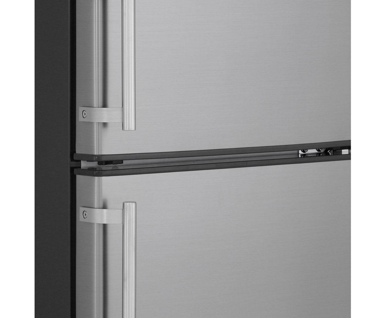 exquisit kgc 233 60 4 2 k hl gefrierkombination freistehend edelstahl optik neu ebay. Black Bedroom Furniture Sets. Home Design Ideas