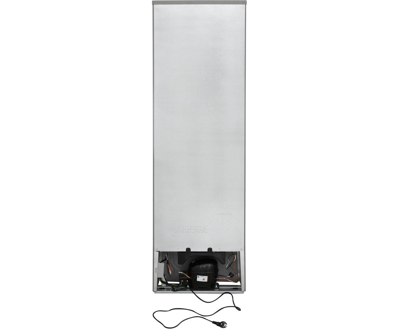 exquisit kgc 250 70 1 a k 252 hl gefrierkombination freistehend edelstahl optik ebay