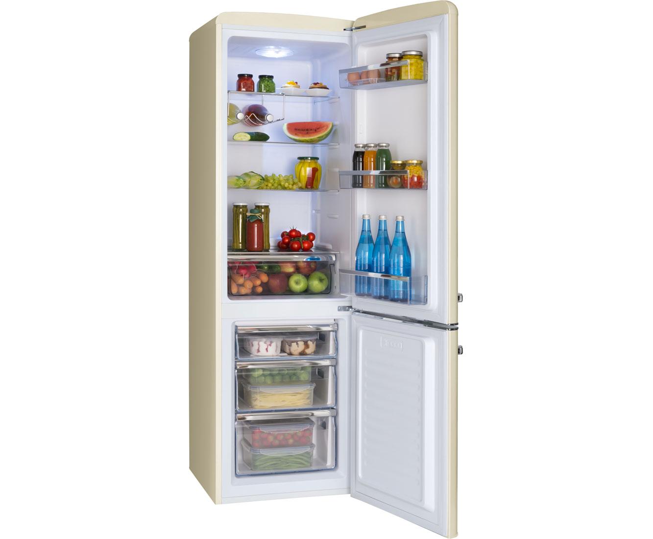 Amica Retro Kühlschrank Hellblau : Amica kgcr l kühl gefrierkombination er breite