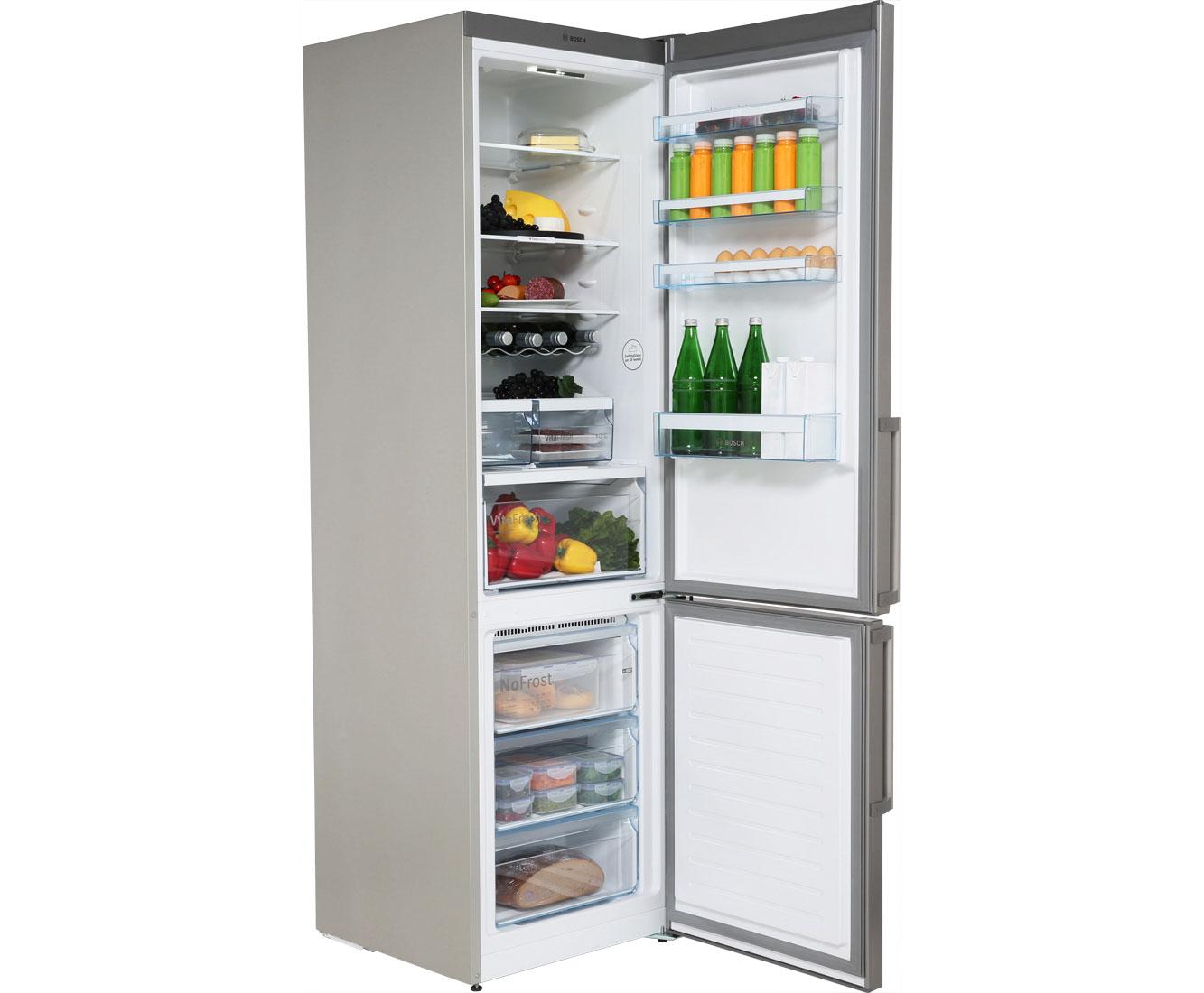 Bosch Serie 4 KGN39XL35 Kühl-Gefrierkombinationen - Edelstahl | Küche und Esszimmer > Küchenelektrogeräte > Kühl-Gefrierkombis | Edelstahl | Bosch