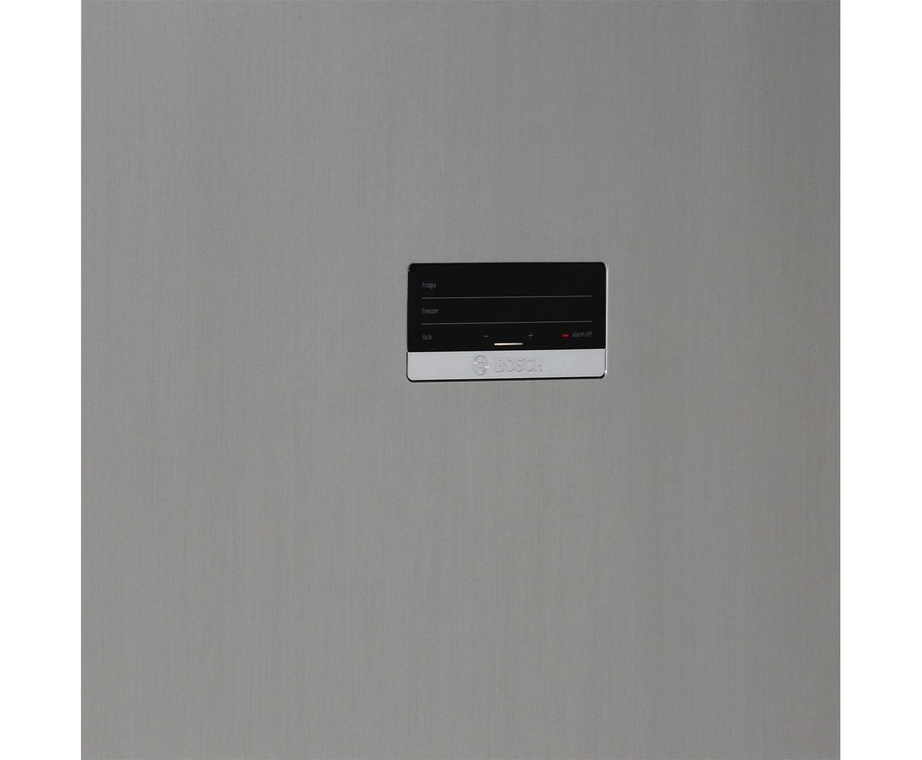 Bosch Kühlschrank Alarm Leuchtet : Bosch serie 4 kgn39xl35 kühl gefrierkombination mit no frost 60er