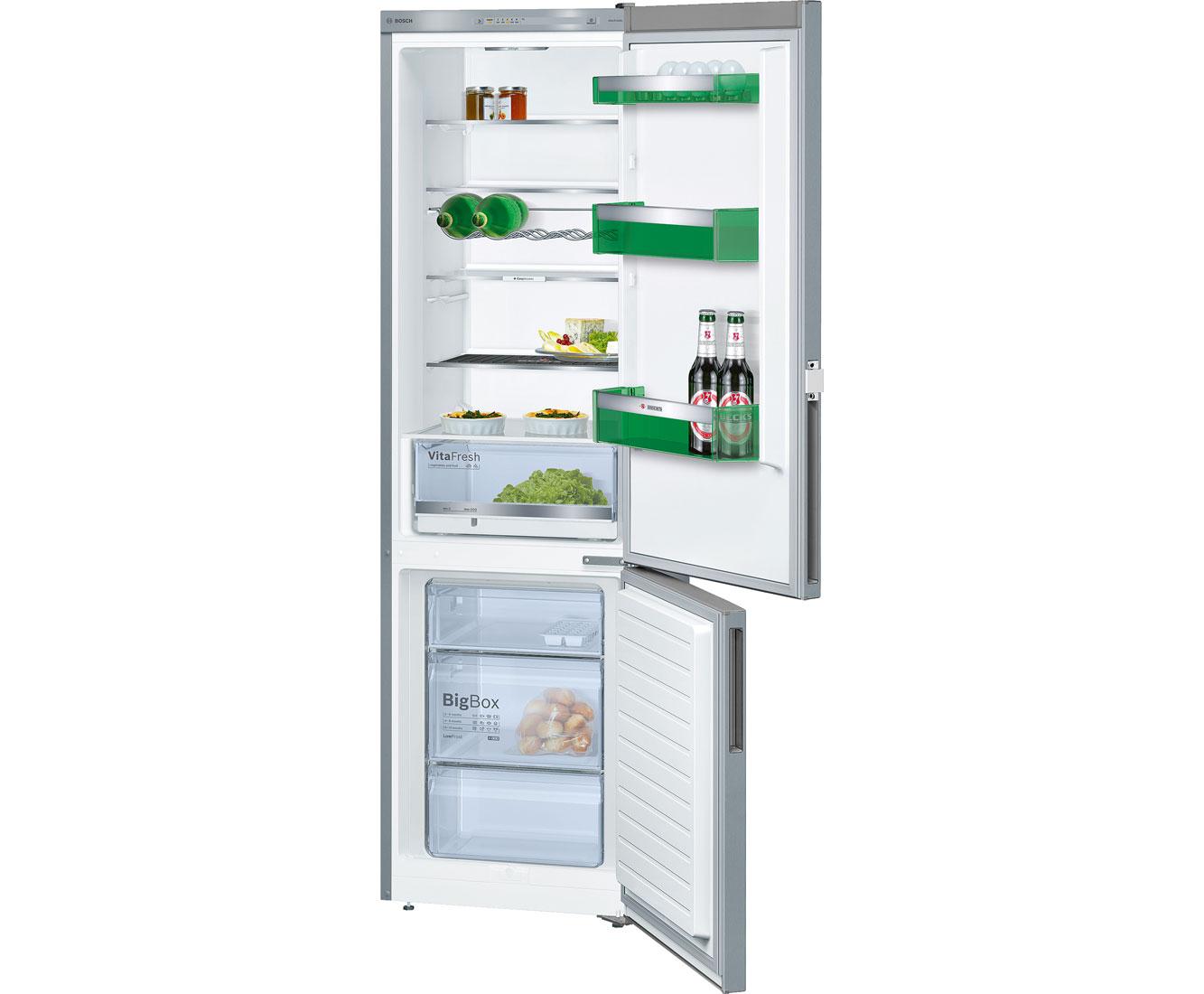 Bosch KGV39VL44 Kühl-Gefrierkombinationen - Edelstahl-Optik | Küche und Esszimmer > Küchenelektrogeräte > Kühl-Gefrierkombis | Edelstahl | Bosch