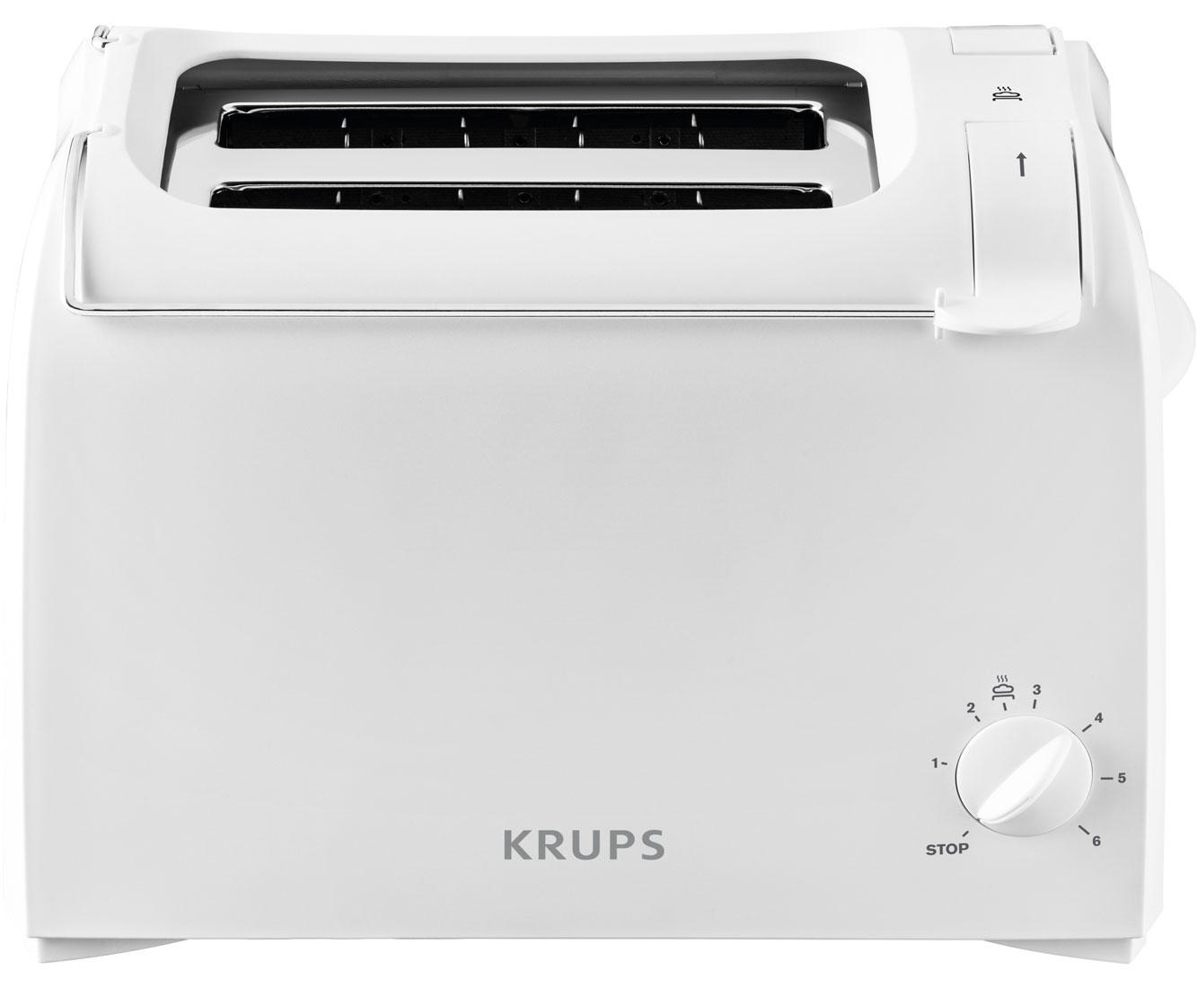 Krups KH 1511 Wasserkocher & Toaster - Weiss