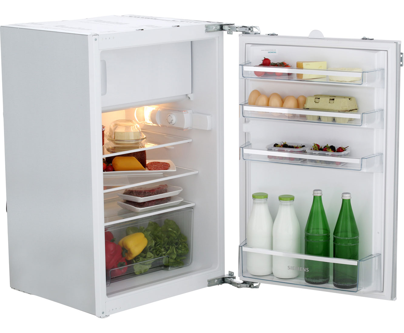 Siemens Kühlschrank : Siemens iq100 ki18lv51 einbau kühlschrank mit gefrierfach 88er