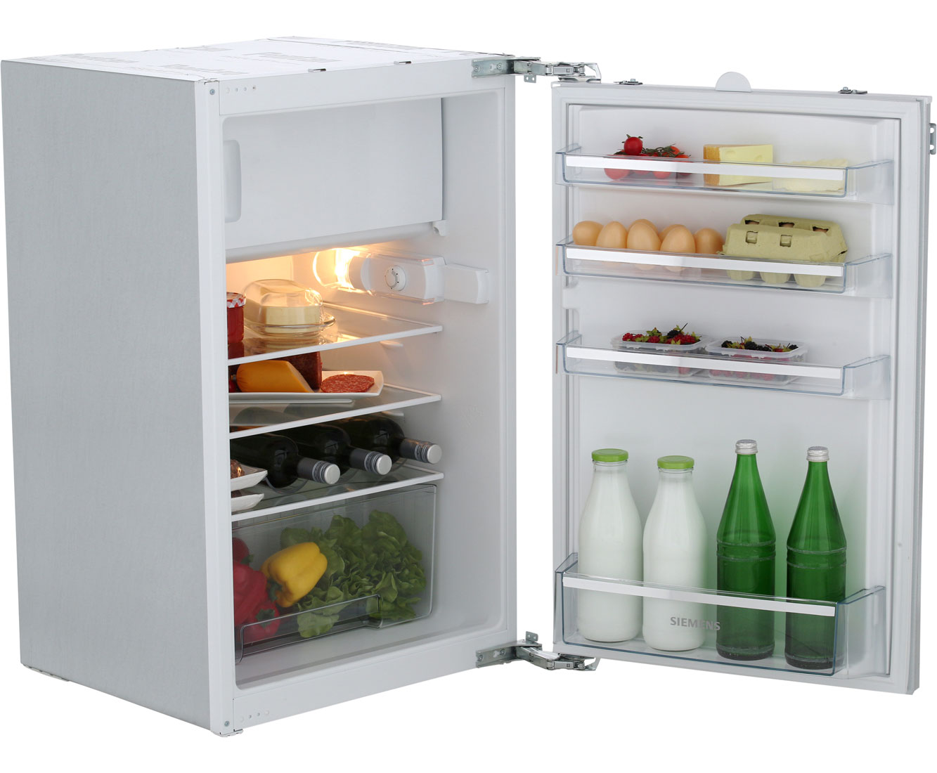 Siemens Kühlschrank Groß : Siemens ki18lv62 kühlschrank eingebaut 54cm weiß neu ebay