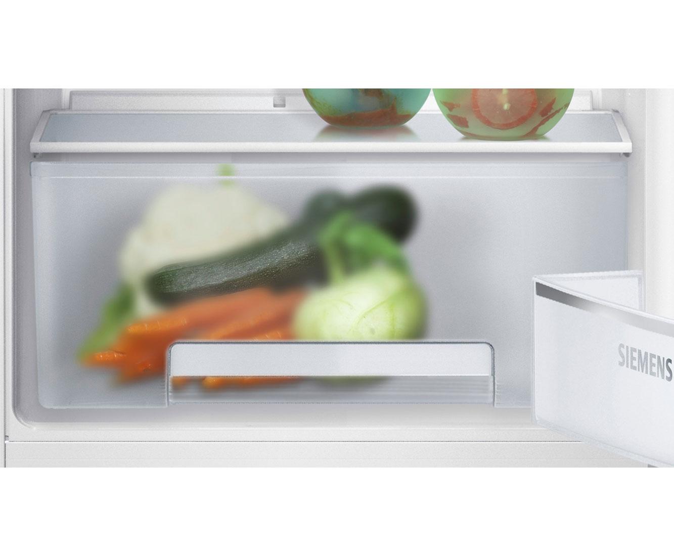 Kühlschrank Richtig Einräumen Siemens : Siemens iq ki rv einbau kühlschrank er nische festtür