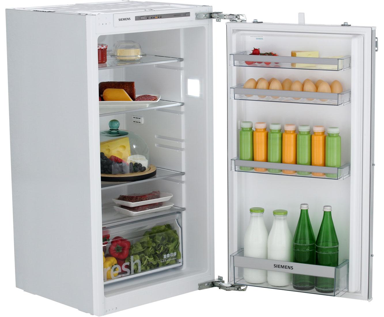 Kühlschrank Richtig Einräumen Siemens : Siemens iq ki rvf einbau kühlschrank er nische festtür