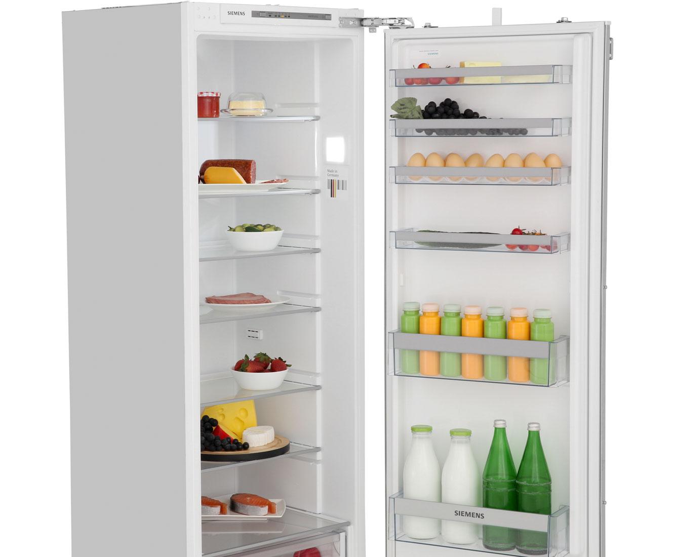 Siemens Kühlschrank Groß : Siemens ki81rvf30 einbau kühlschrank 178er nische festtür technik