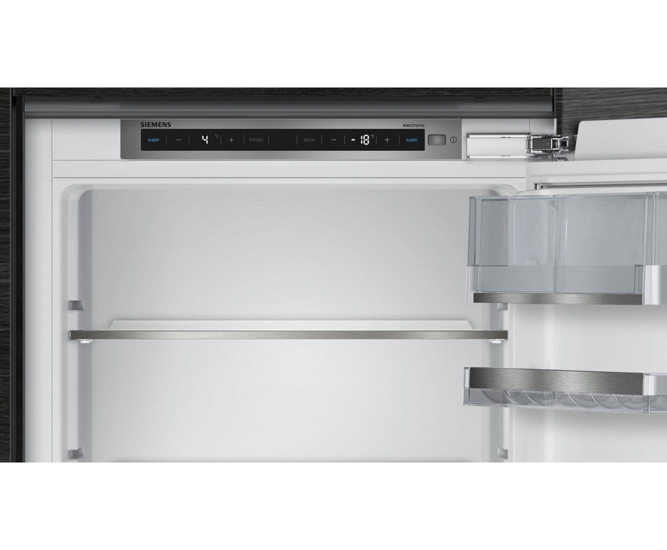 Siemens Kühlschrank Holiday Funktion : Siemens ki nad einbau kühl gefrierkombination mit no frost