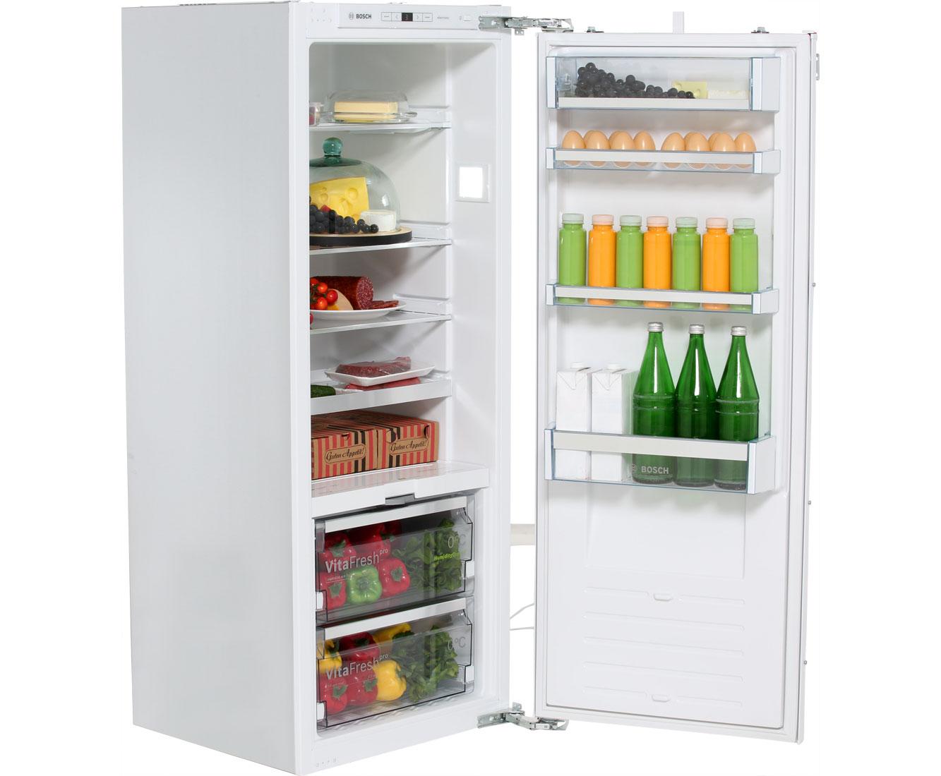 Kleiner Kühlschrank Einbau : Bosch serie kif af einbau kühlschrank er nische festtür