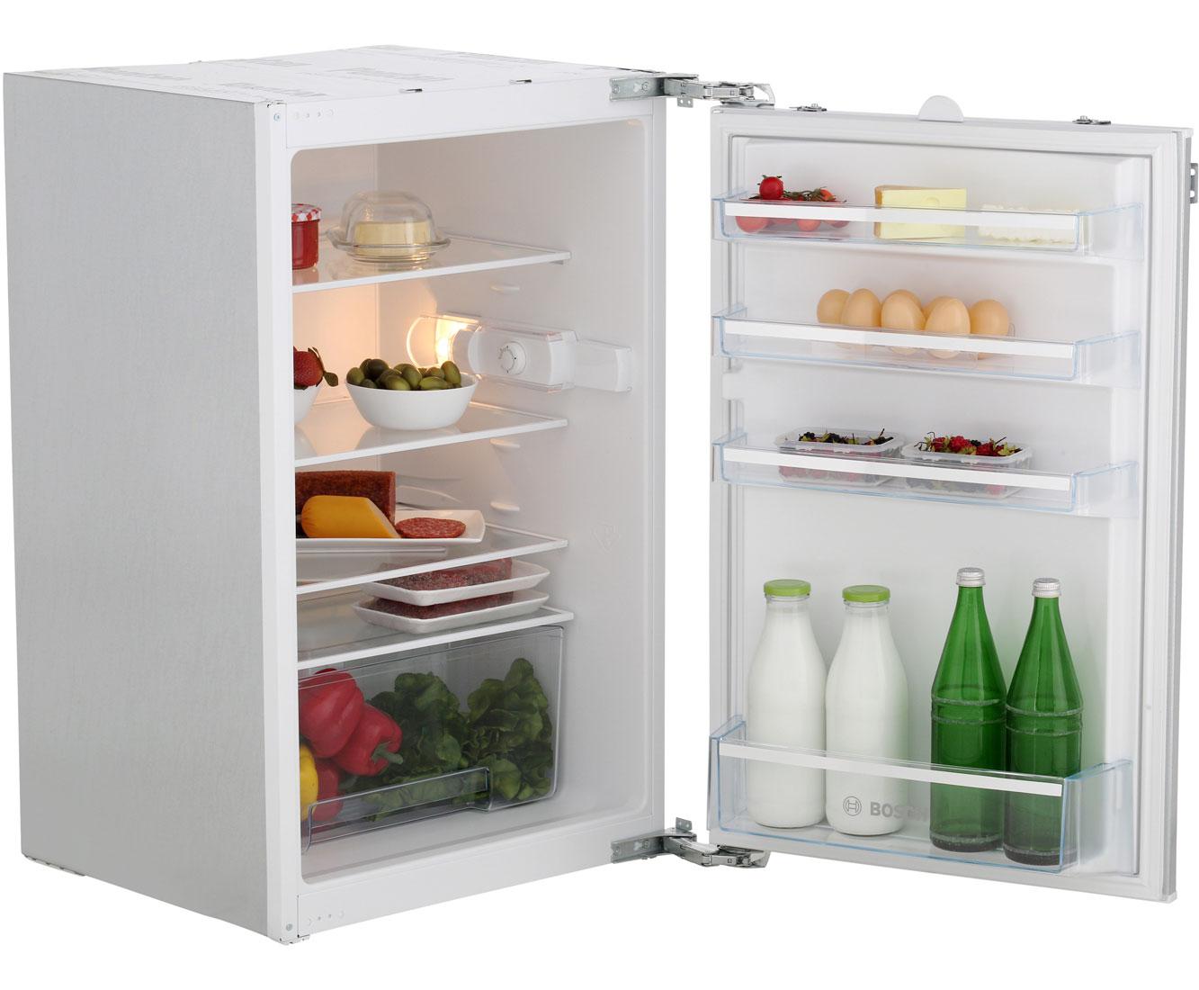 Bosch Kühlschrank Wasser Läuft Aus : Bosch serie 2 kir18v51 einbau kühlschrank 88er nische festtür