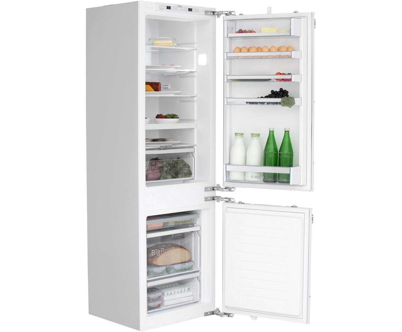 Bosch Kühlschrank Einbau Mit Festtürmontage : Bosch serie kis af einbau kühl gefrierkombination er