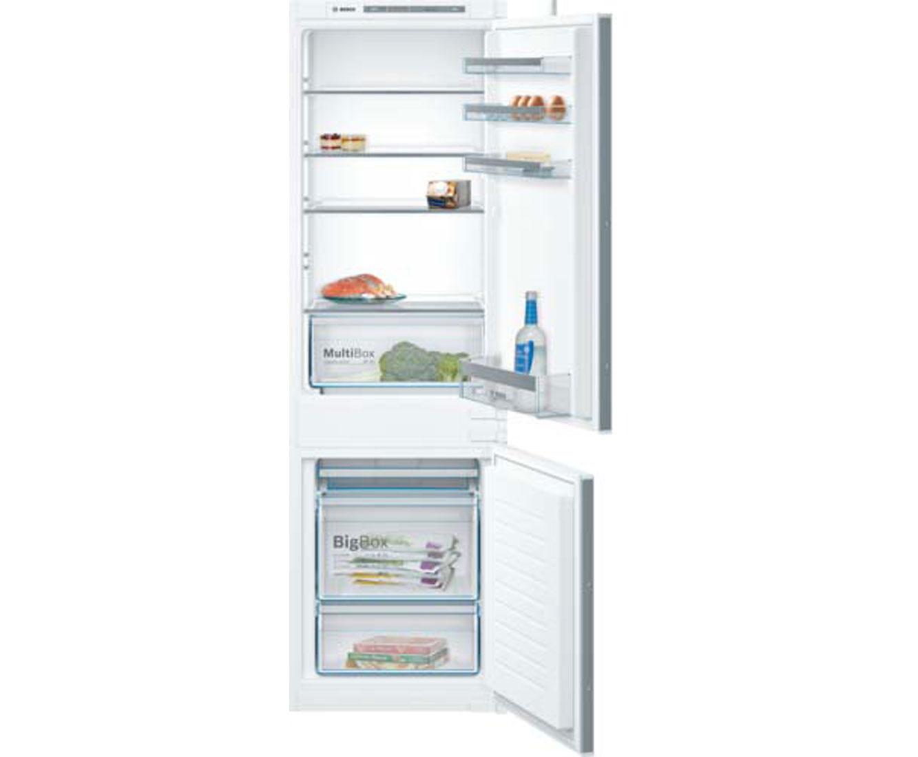 Bosch Serie 4 KIV86VS30 Kühl-Gefrierkombinationen - Weiß | Küche und Esszimmer > Küchenelektrogeräte > Kühl-Gefrierkombis | Weiß | Bosch