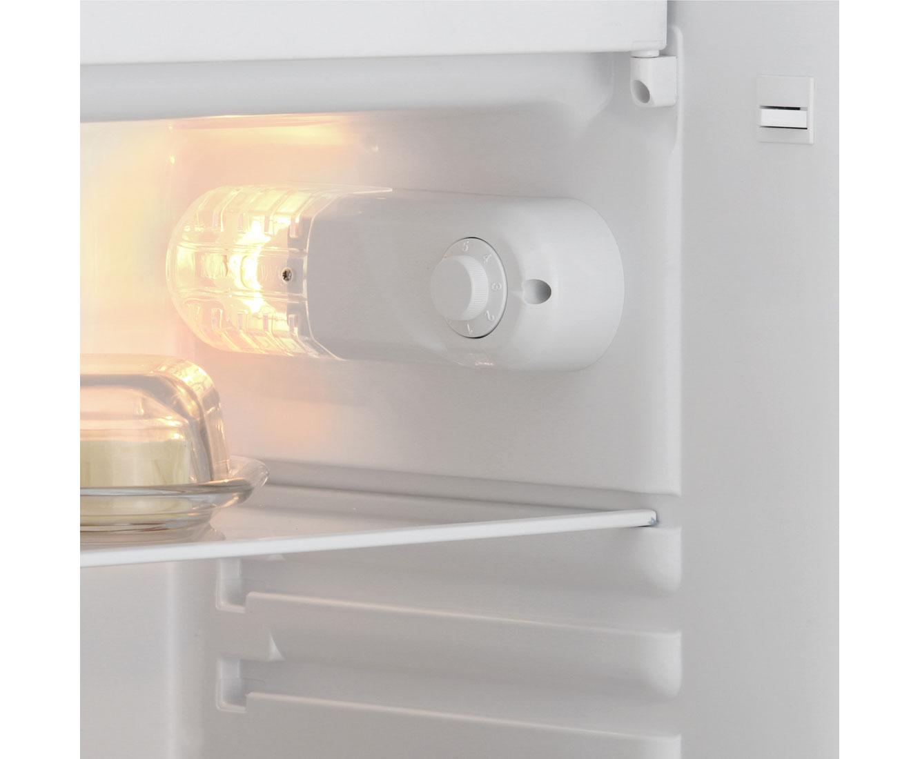 Exquisit KS117-4 A++ Kühlschrank mit Gefrierfach - Weiß, A++