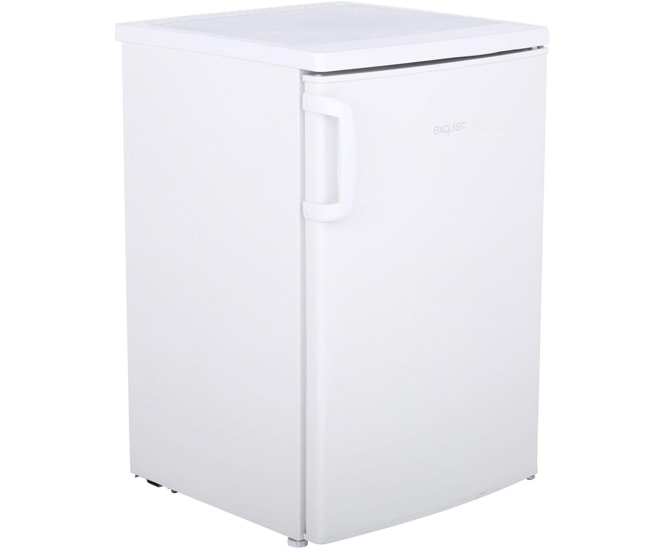 Retro Kühlschrank Real : Exquisit ks a kühlschrank mit gefrierfach weiß a