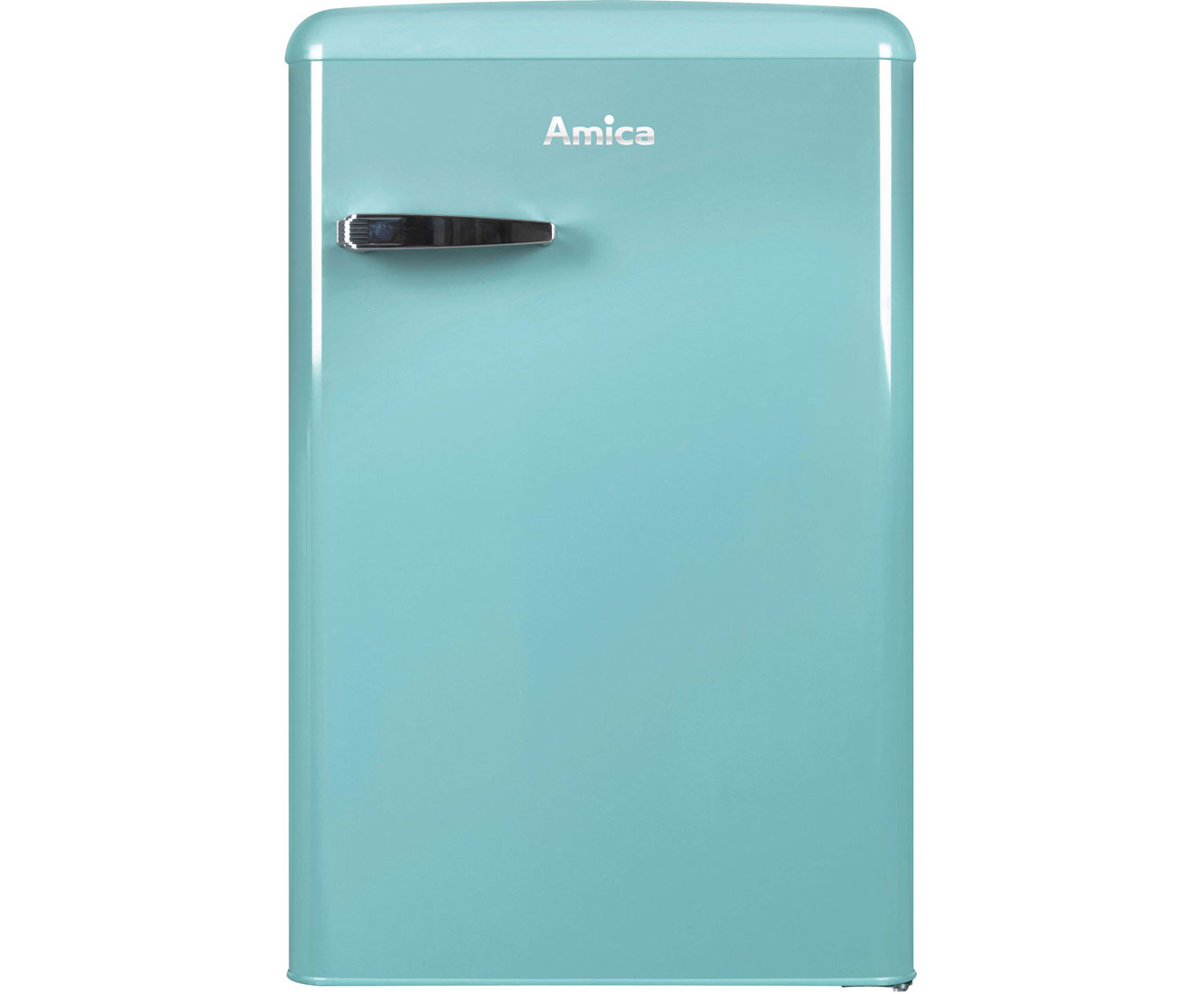 Amica Kühlschrank Retro Türkis : Amica ks t retro design kühlschrank freistehend cm