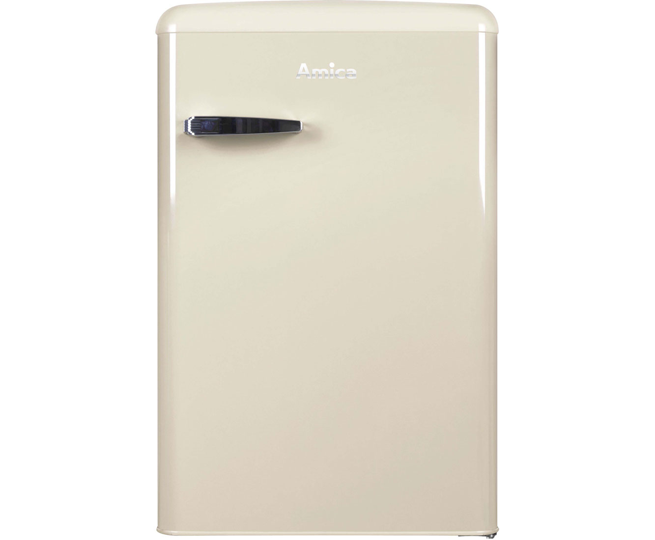 Amica Kühlschrank Mit Gefrierfach Retro : Amica retro design ks 15615 b kühlschrank mit gefrierfach beige
