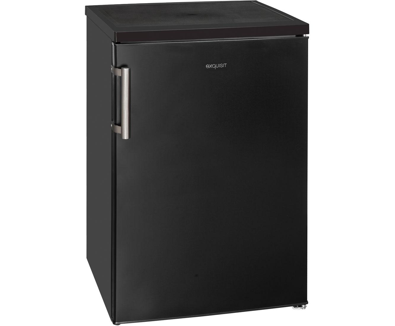 Exquisit Retro Kühlschrank : Exquisit ks rva kühlschrank matt schwarz a