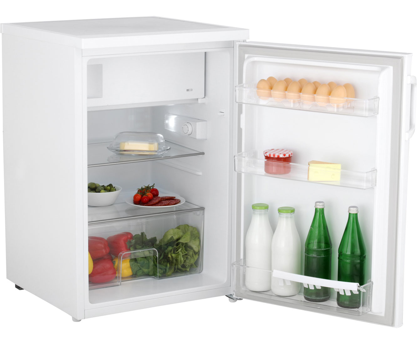 Kleiner Kühlschrank Idealo : Bomann ks kühlschrank mit gefrierfach weiß a
