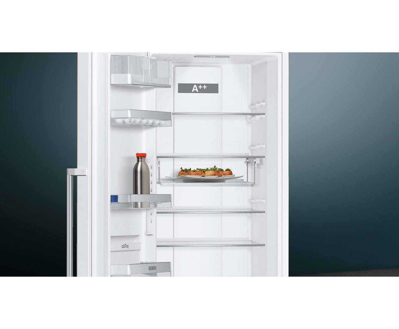 Siemens Kühlschrank In Betrieb Nehmen : Siemens iq ks fpw p kühlschrank weiß a