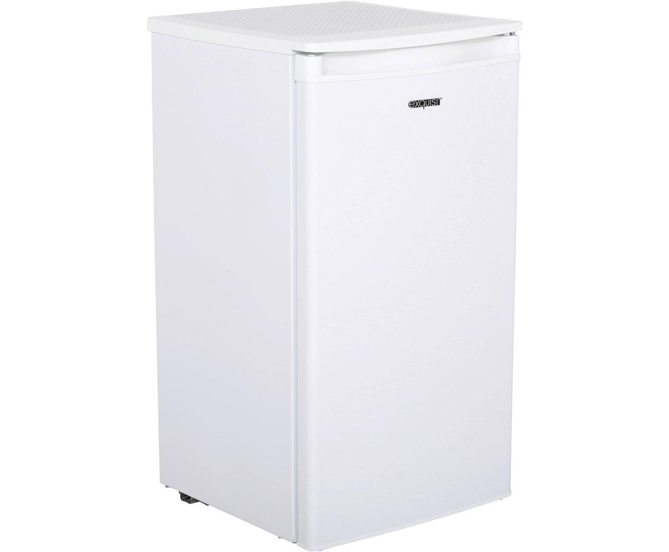 Kühlschrank Weiss : Exquisit ks rva kühlschrank weiß a