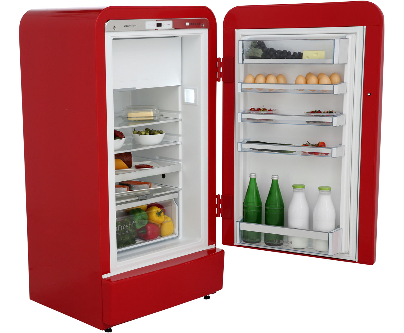 Bosch Kühlschrank Nass : Bosch serie ksl ar kühlschrank mit gefrierfach rot retro