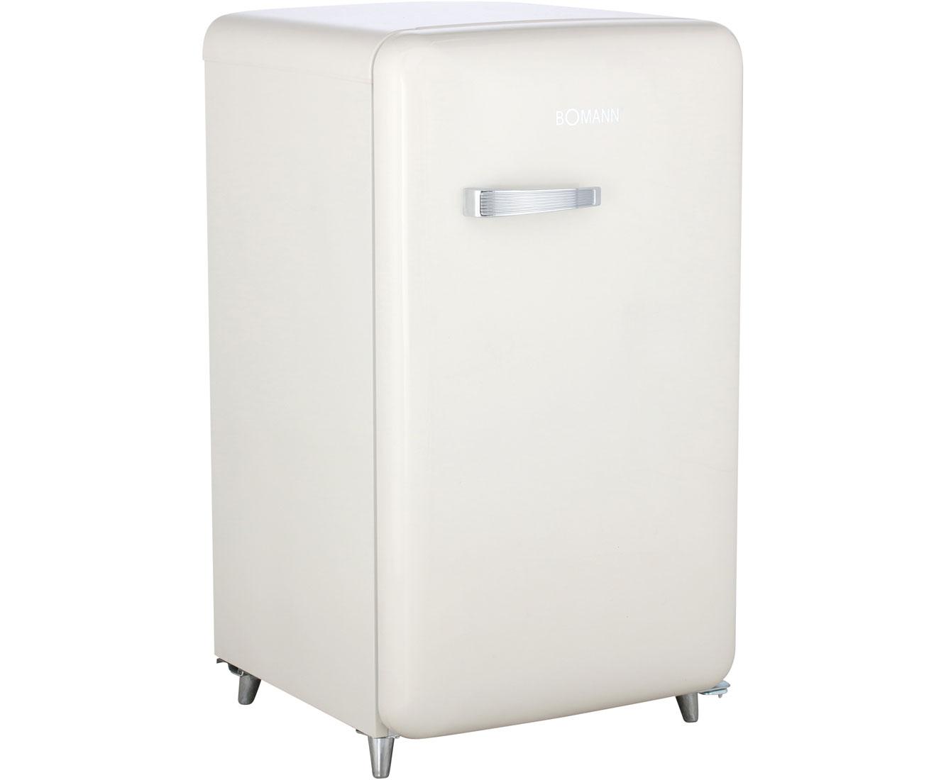 Kühlschrank Von Bomann : Bomann ksr kühlschrank mit gefrierfach beige retro design a