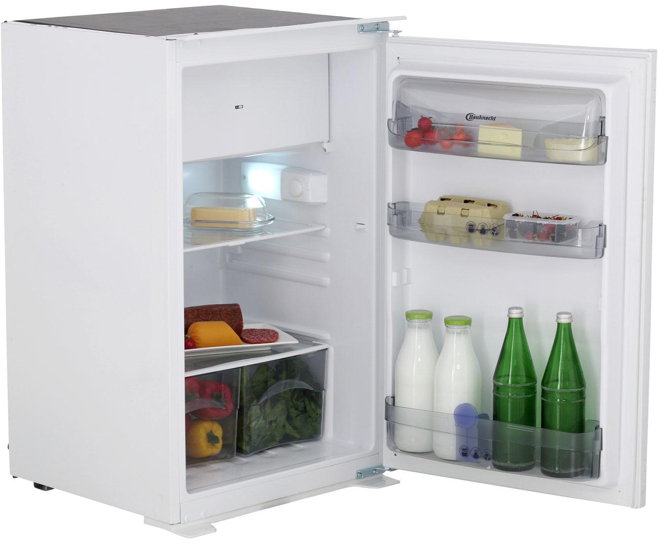 Mini Kühlschrank Zum Einbauen : Bauknecht kvi 1884 a einbau kühlschrank mit gefrierfach 88er