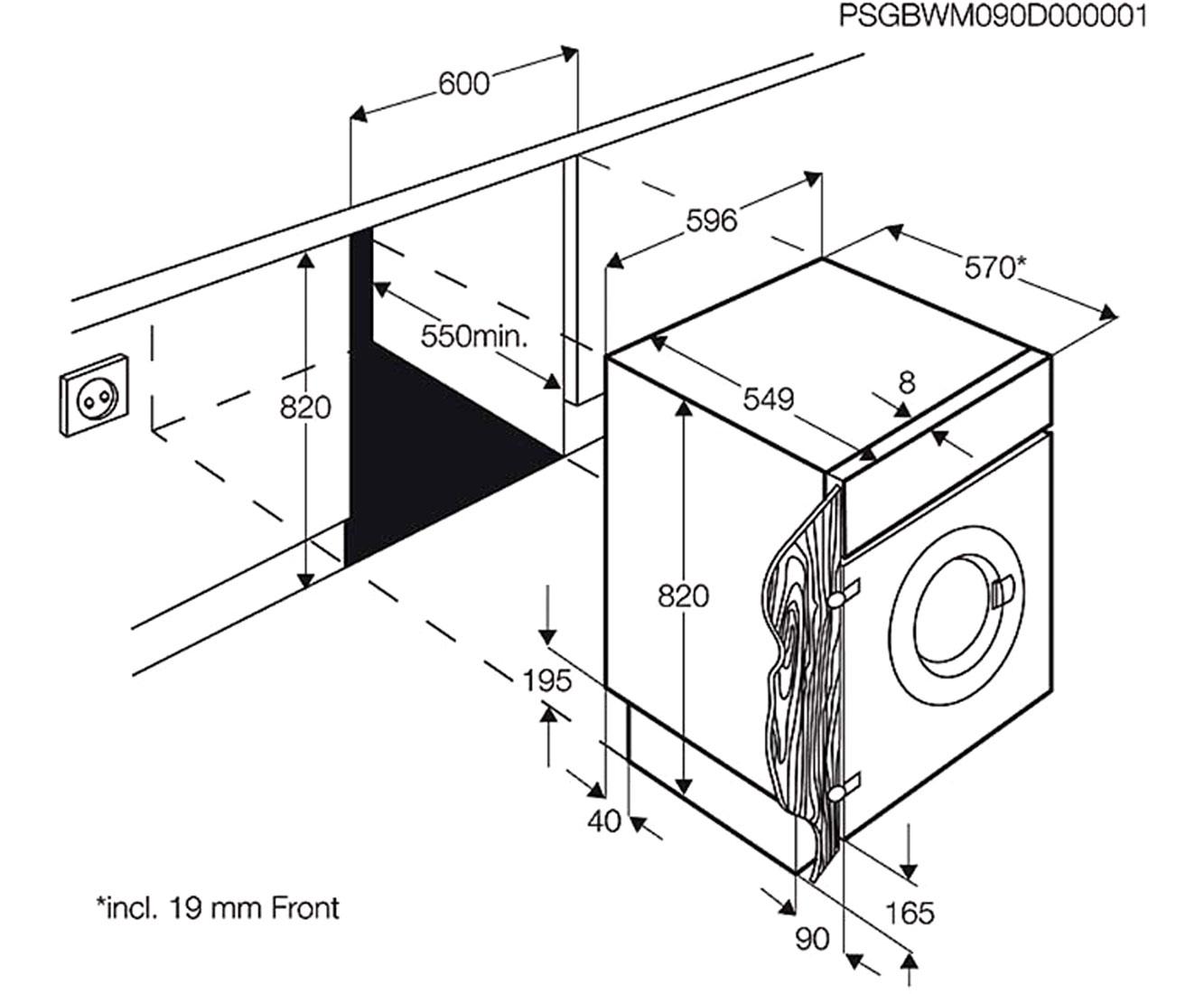 samsung ww70j44a3mw eg waschmaschine frontlader 7kg 85 cm h he eco trommelreinigung. Black Bedroom Furniture Sets. Home Design Ideas