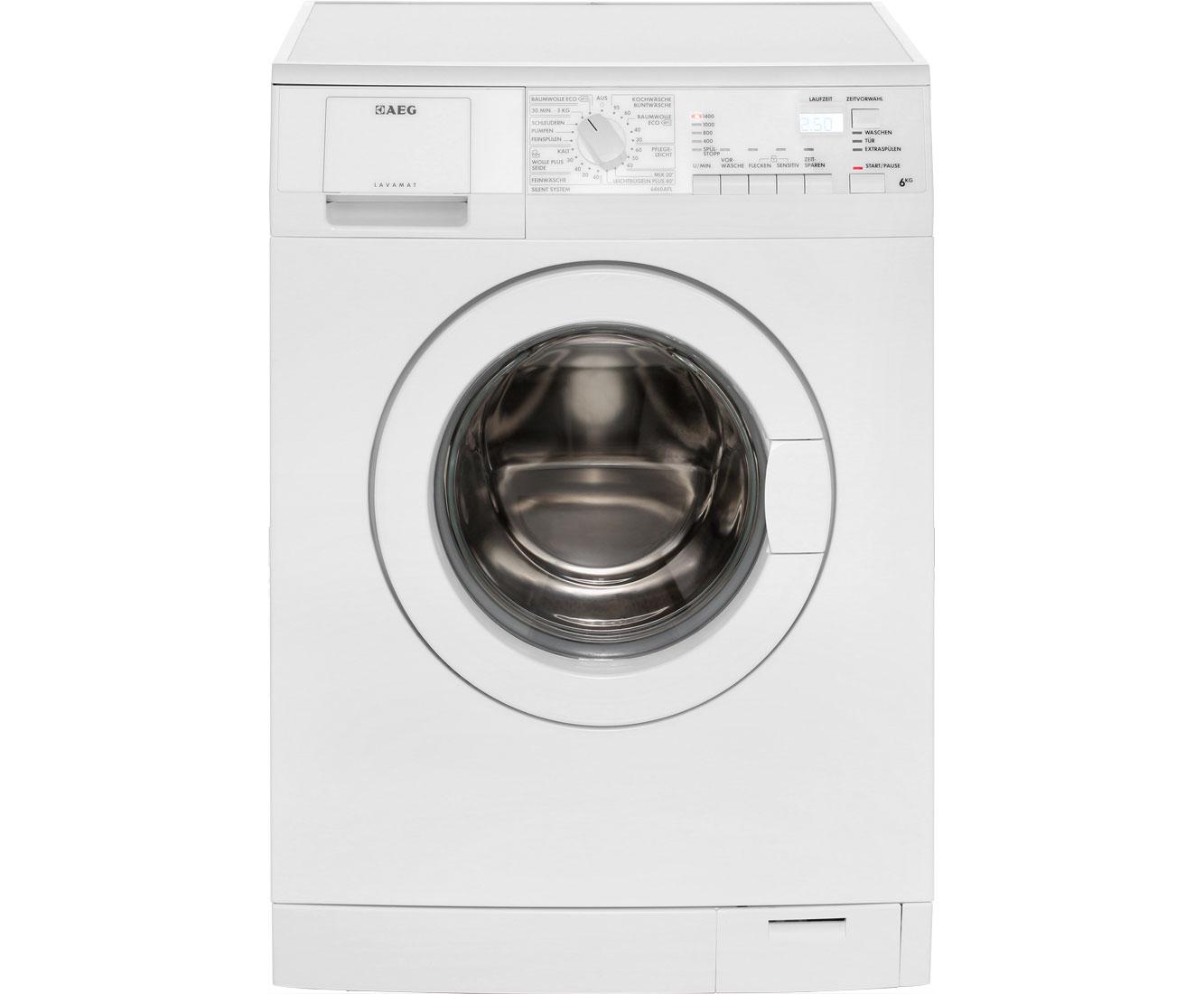 aeg lavamat 5468 fl stand waschmaschine frontlader wei eek a 914903419 von aeg ean. Black Bedroom Furniture Sets. Home Design Ideas