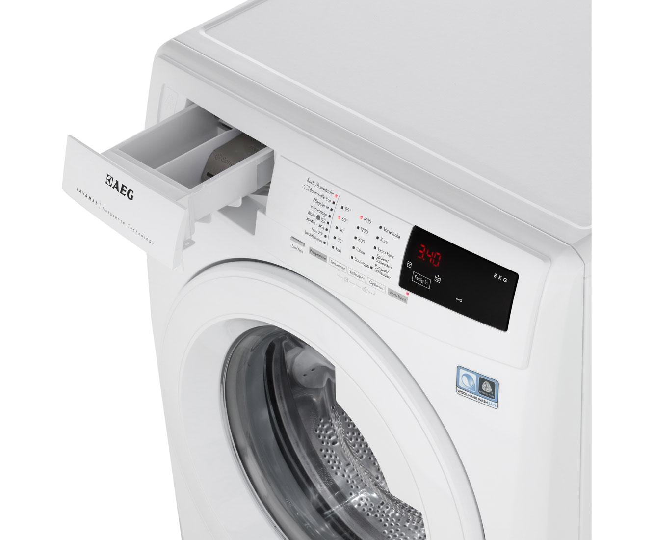 Aeg Lavamat L68480fl Waschmaschine 8 Kg 1400 U Min A