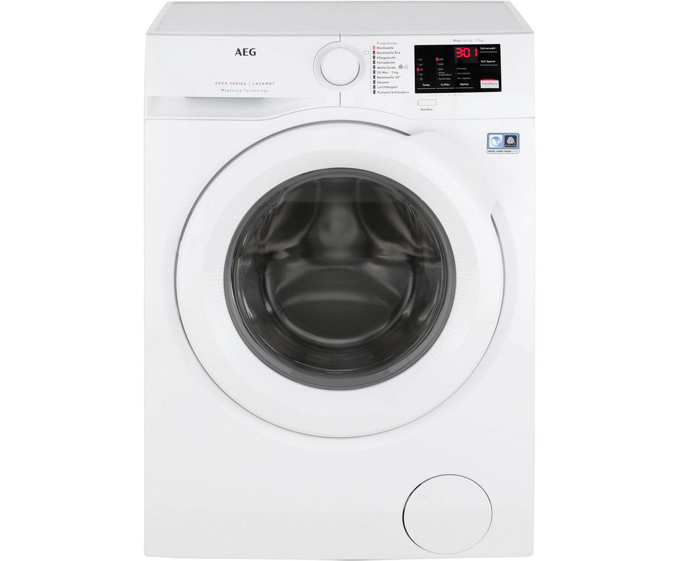 Aeg Lavamat L6fb50470 Waschmaschine Weiß 7 Kg 1400 Umin A