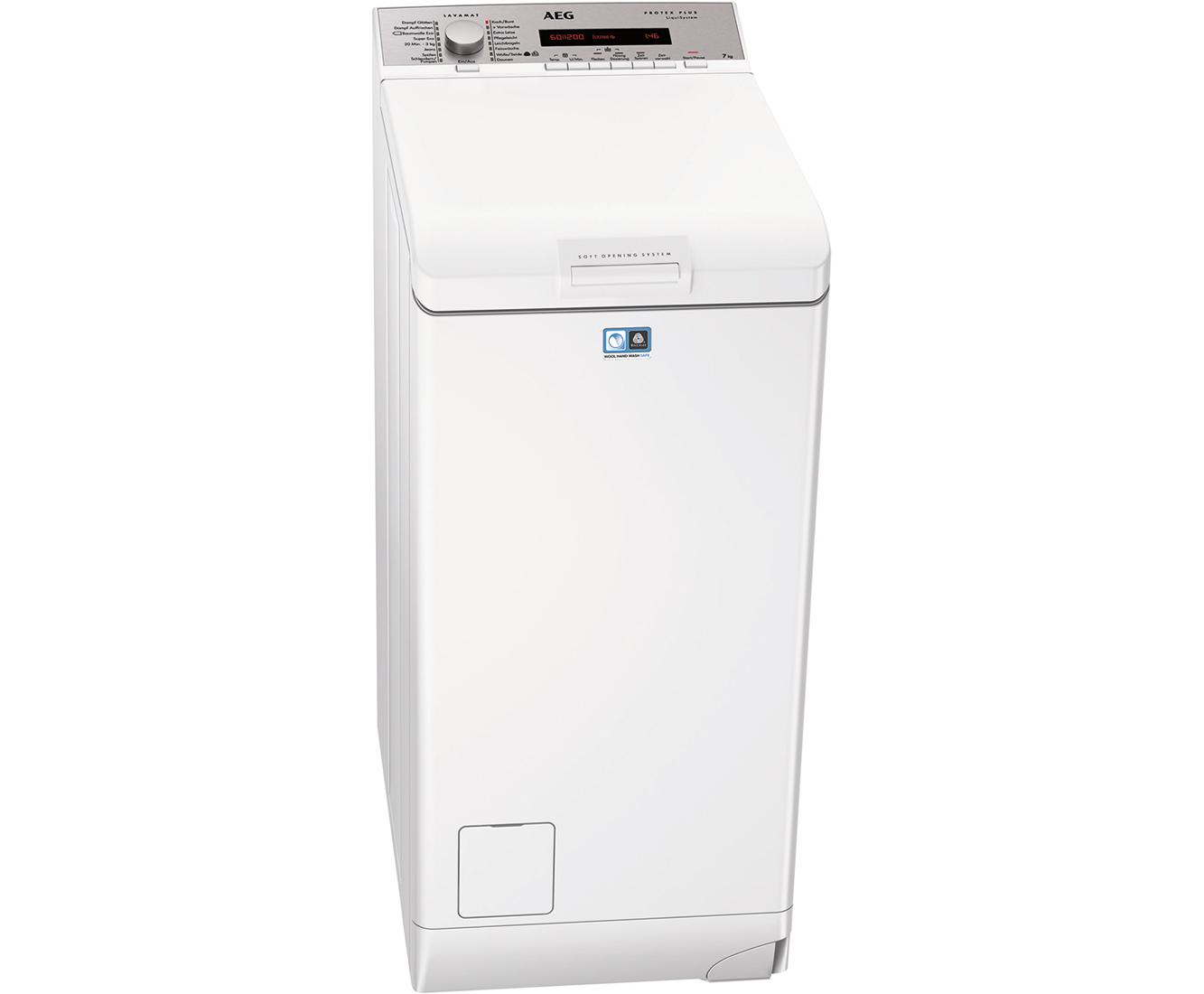 Aeg lavamat l78275tl waschmaschine toplader 7 kg 1200 u min a
