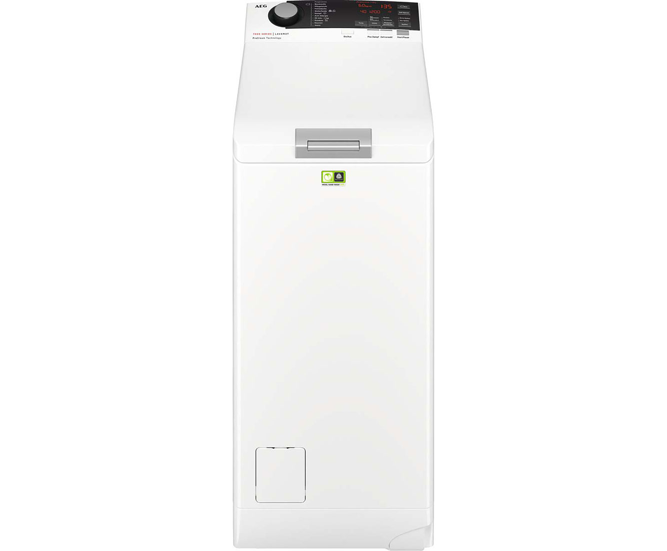 Aeg lavamat l7te74265 waschmaschine toplader 6 kg 1200 u min a