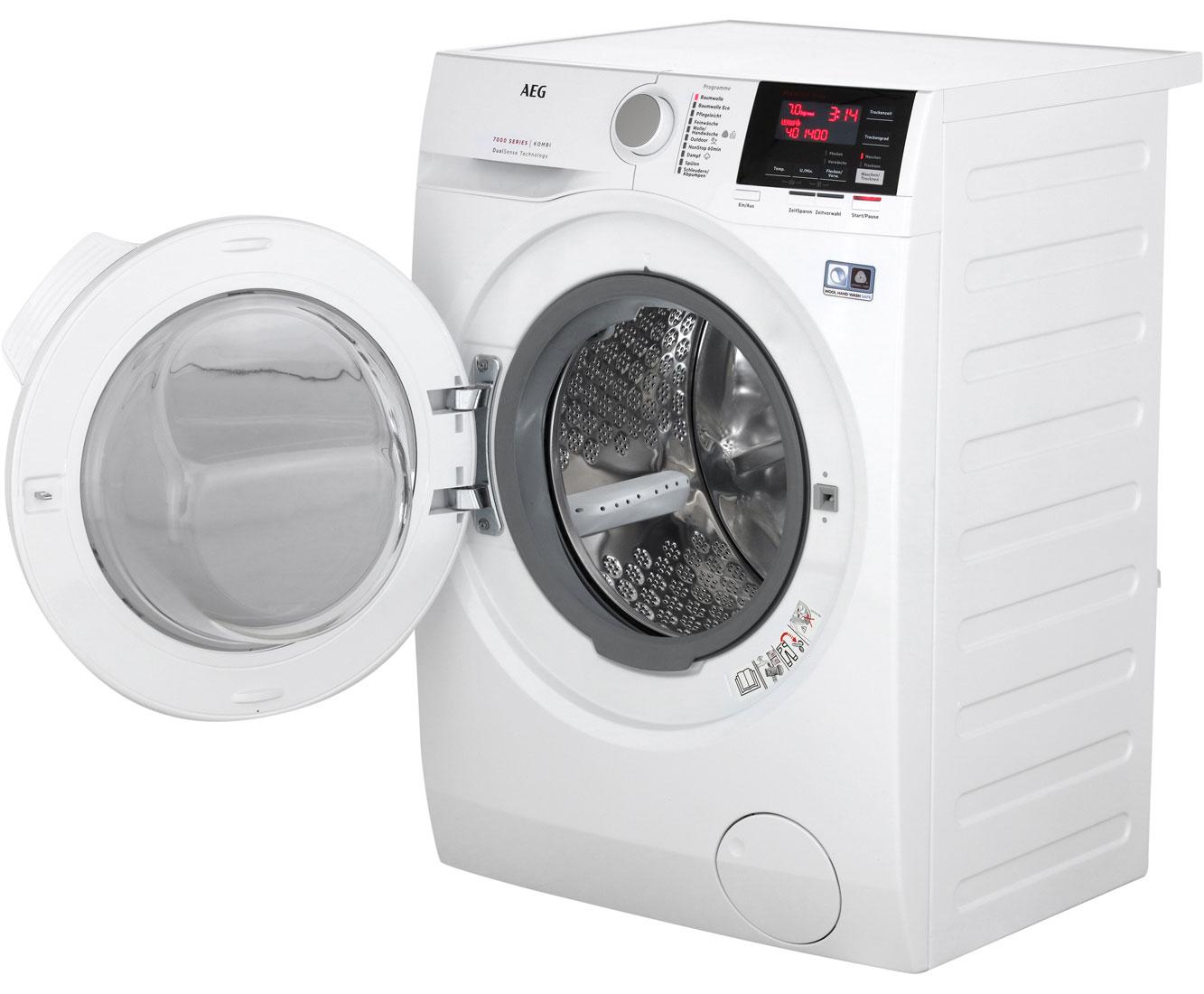 Aeg lavamat kombi l7wb64474 waschtrockner 7 kg waschen 4 kg