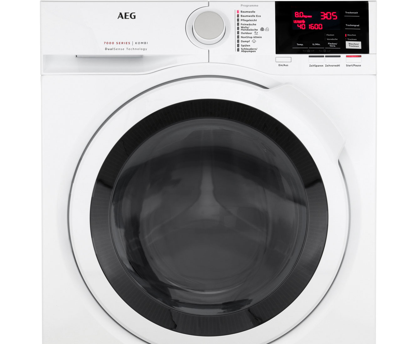 Aeg lavamat kombi l7wb65684 waschtrockner 8 kg waschen 4 kg