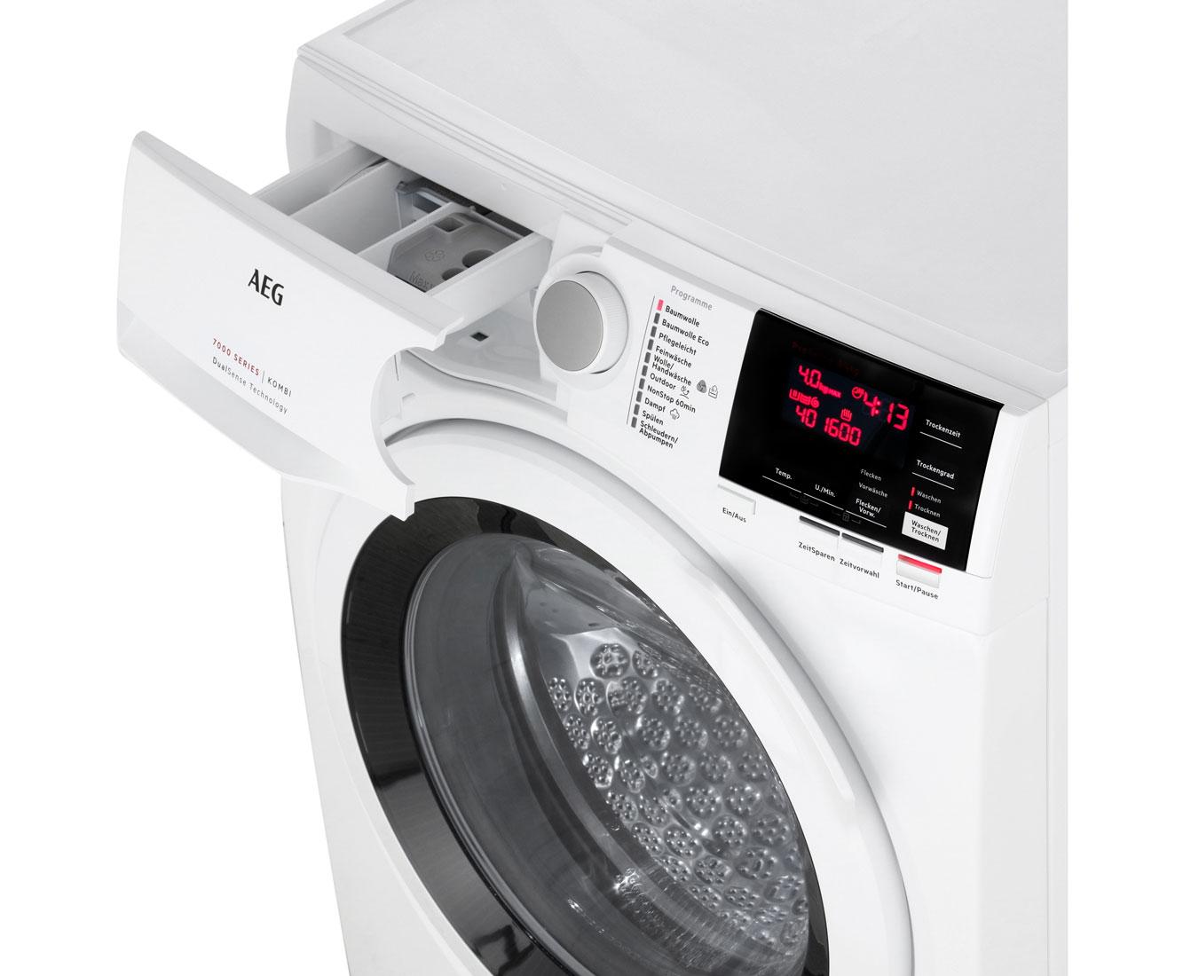 Aeg l7wb65684 lavamat kombi waschtrockner freistehend weiss neu ebay