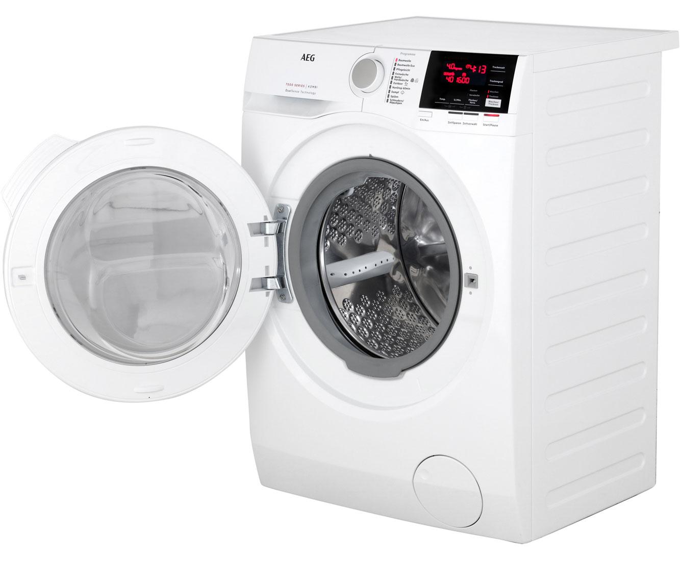 Aeg l wb lavamat kombi waschtrockner freistehend weiss neu ebay