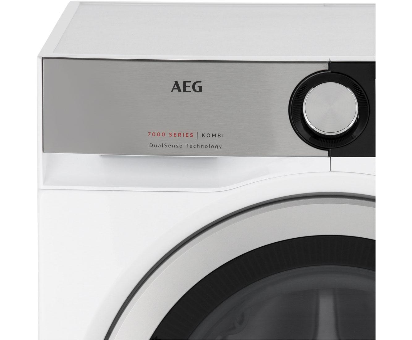 Aeg lavamat kombi l7we86605 waschtrockner 10 kg waschen 6 kg