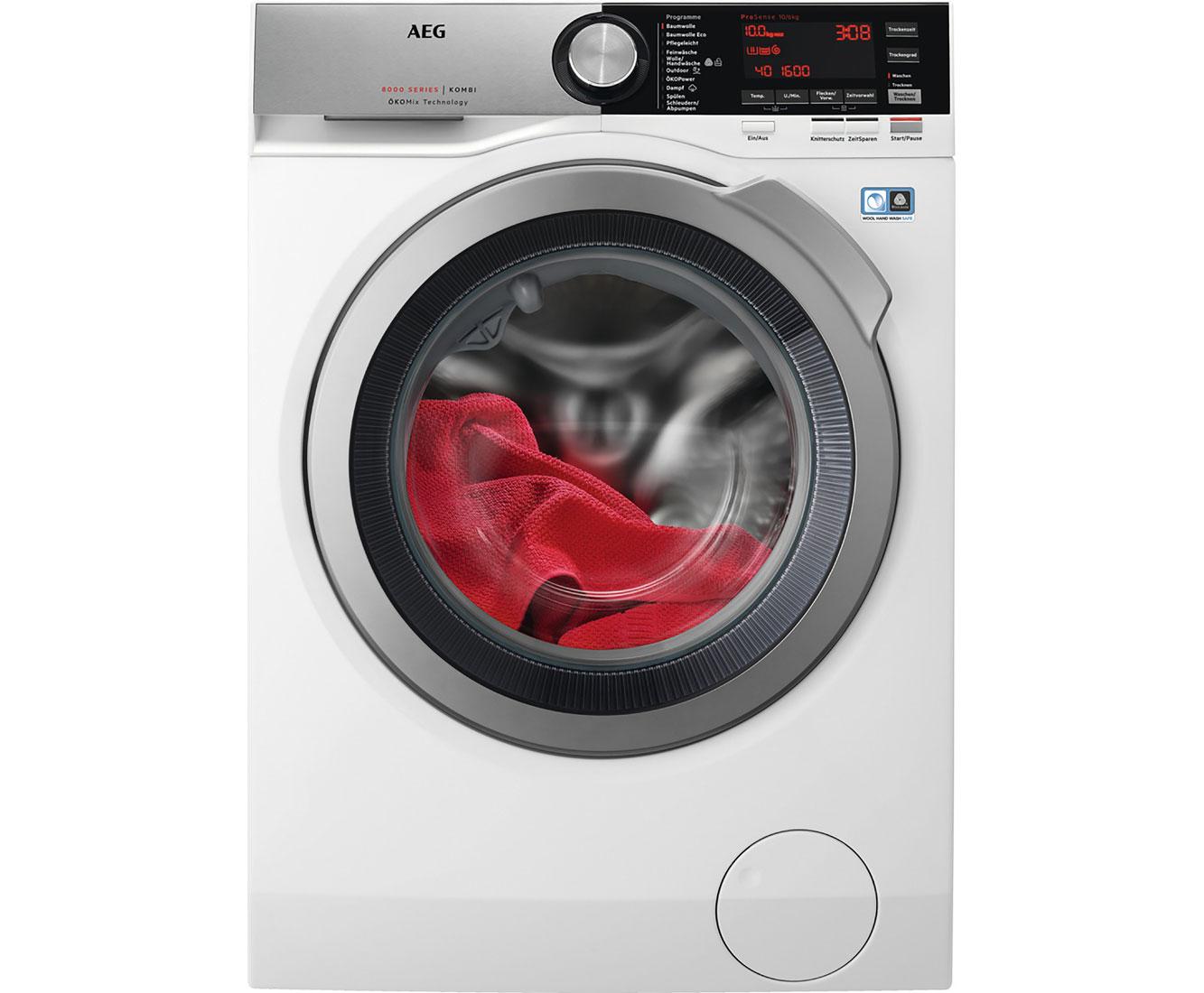 AEG Lavamat Kombi L8WE86605 Waschtrockner - Weiss