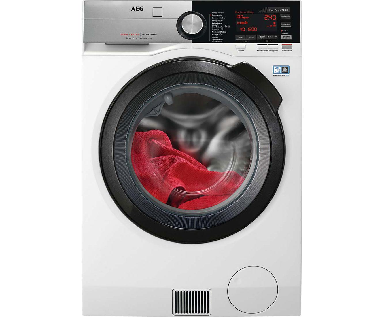 Aeg l we waschtrockner kg waschen kg trocknen