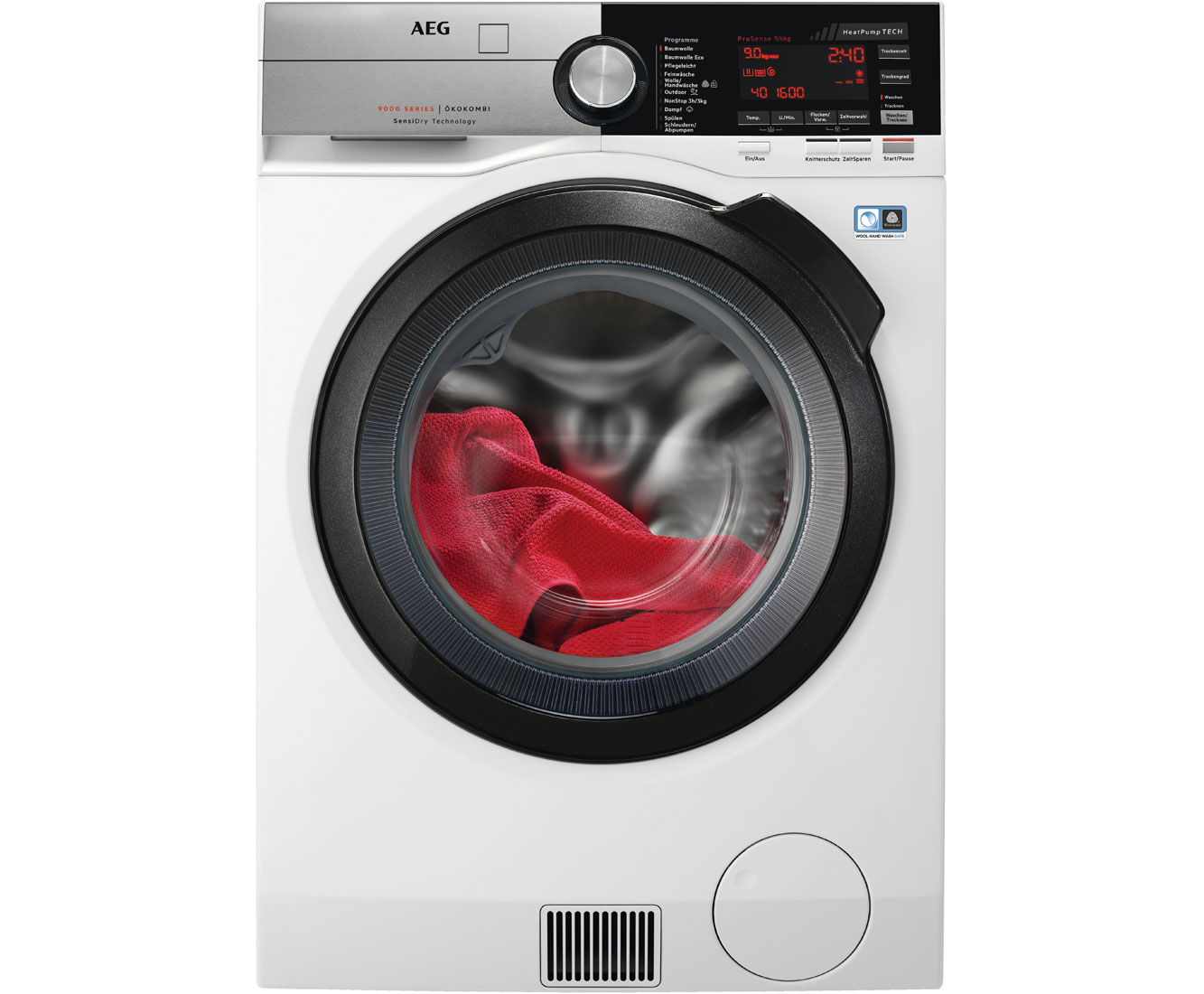 L9WE86695 Waschtrockner - Weiss