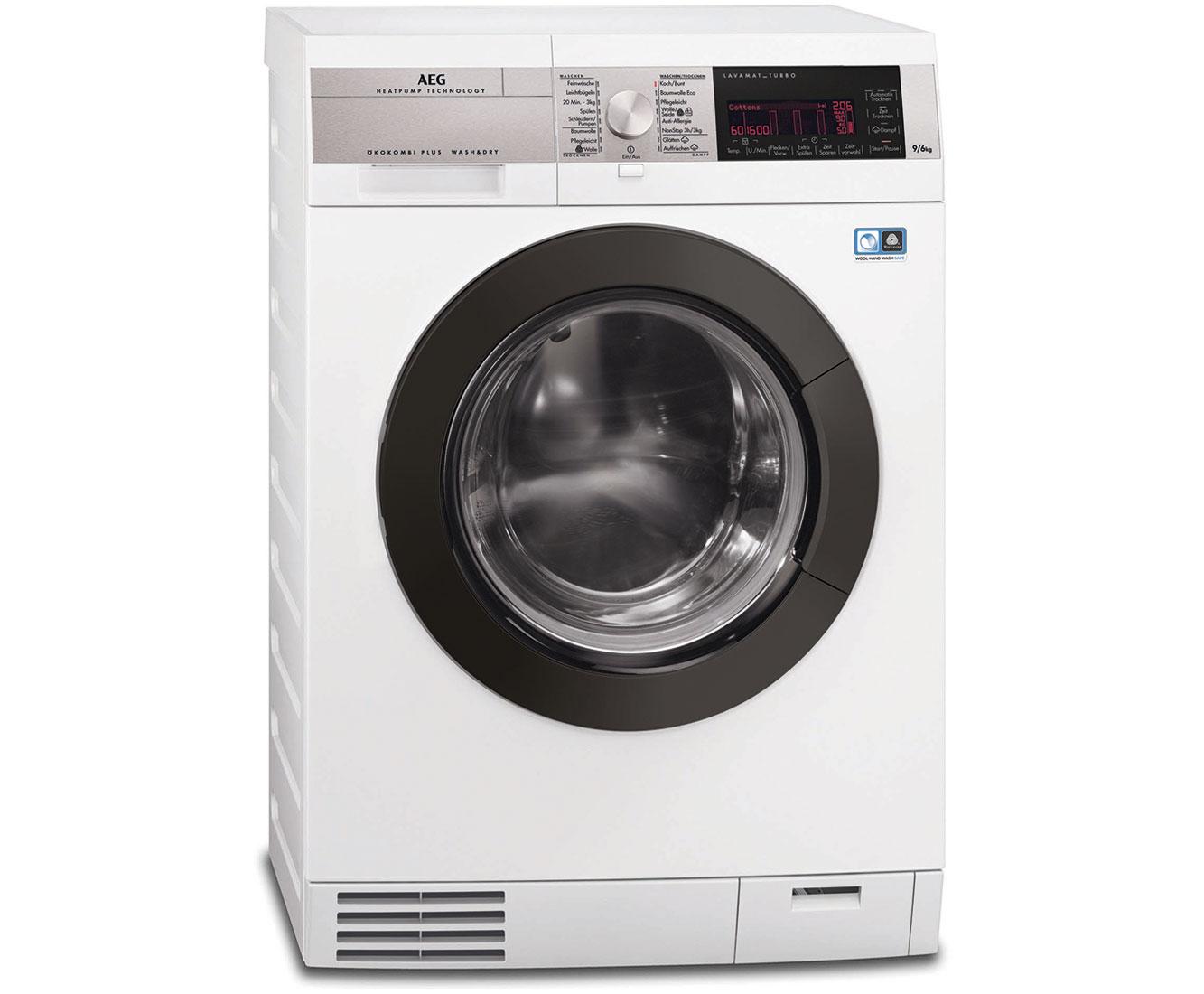 Aeg Ökokombi plus l9we95Öko waschtrockner 9 kg waschen 6 kg