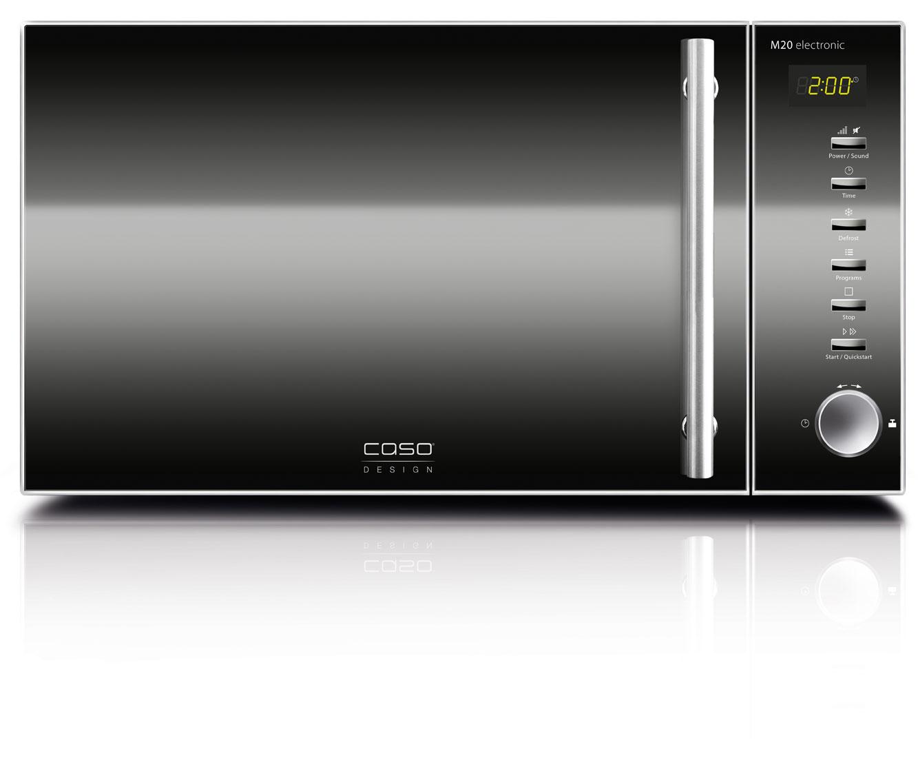 CASO M20 Electronic Mikrowellen - Schwarz | Küche und Esszimmer > Küchenelektrogeräte > Mikrowellen | Schwarz | CASO