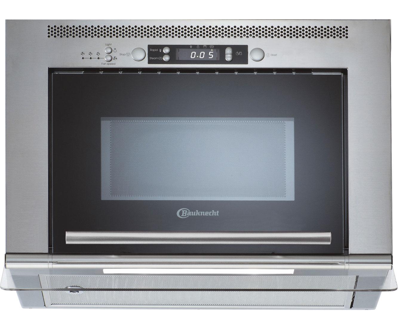 Bauknecht MHC 8812 PT Mikrowellen - Edelstahl | Küche und Esszimmer > Küchenelektrogeräte > Mikrowellen | Edelstahl | Bauknecht