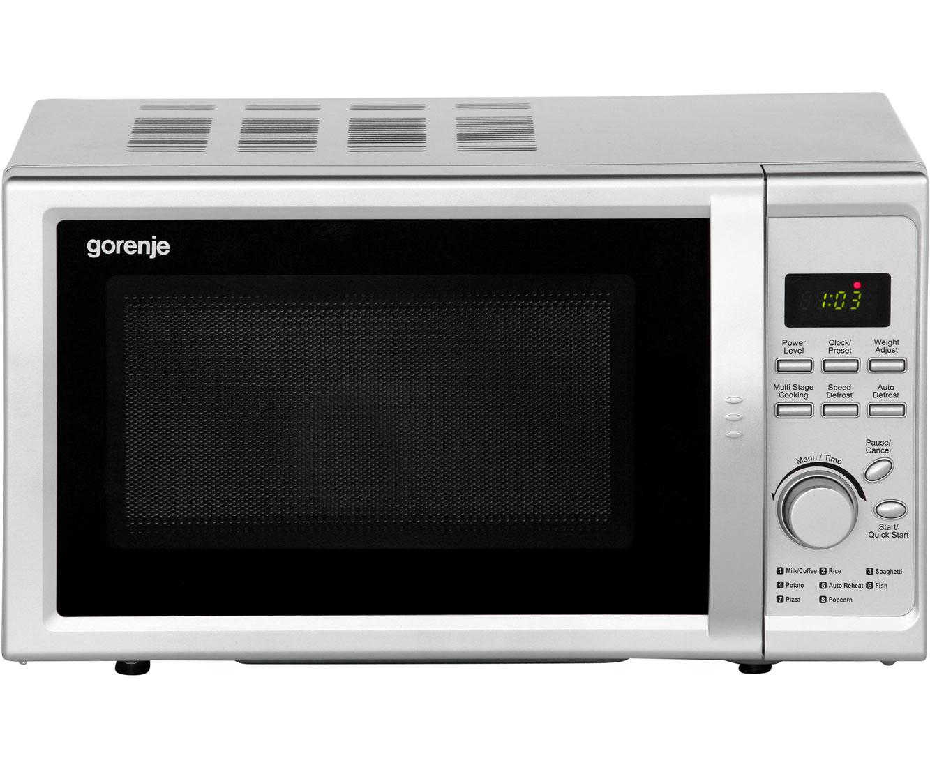 Gorenje MO 20 DSII Mikrowellen - Silber | Küche und Esszimmer > Küchenelektrogeräte > Mikrowellen | Silber | Gorenje