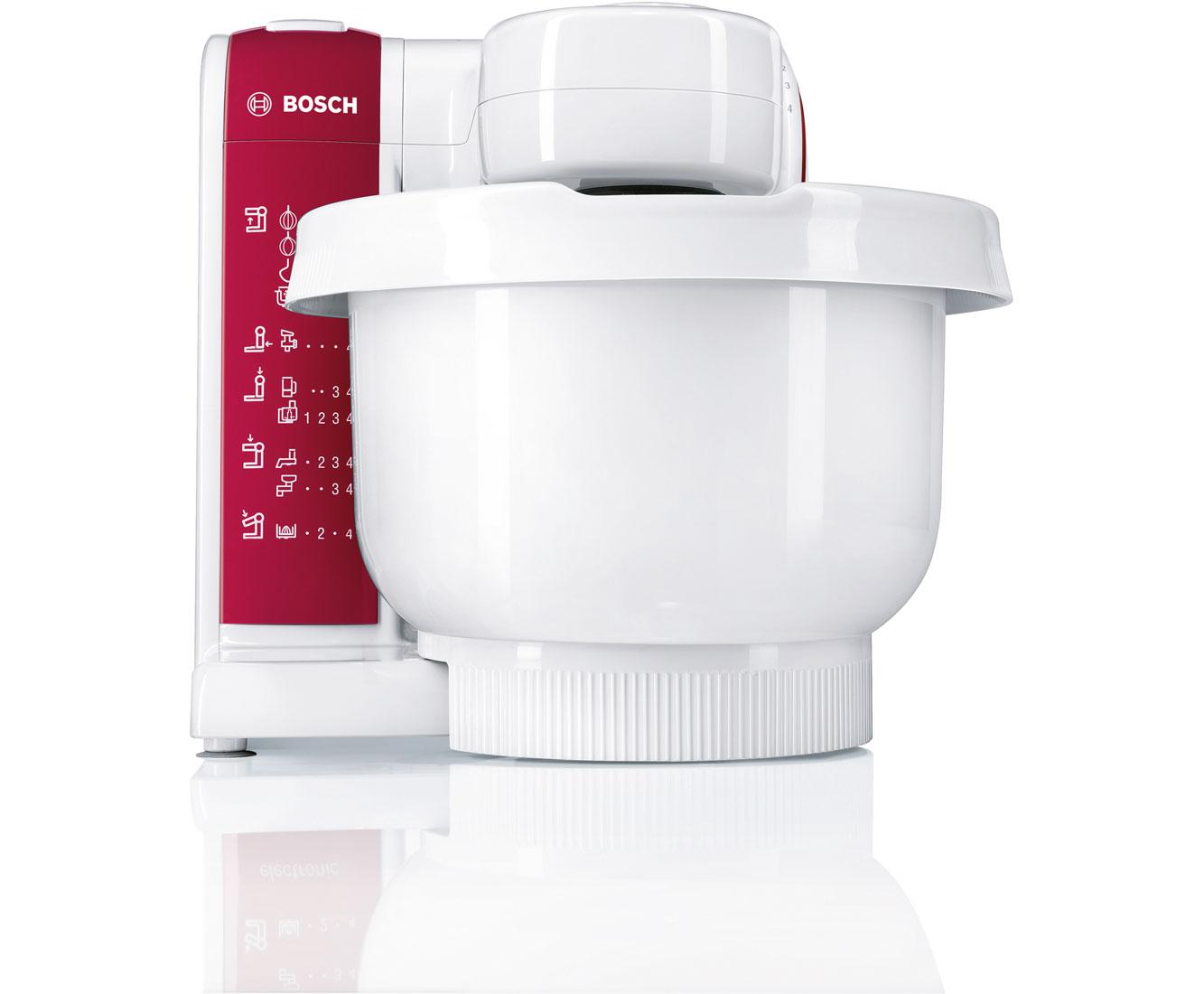 Bosch MUM48010DE Küchenmaschinen - Weiss / Rot | Küche und Esszimmer > Küchengeräte > Rührgeräte und Mixer | Weiss - Rot | Bosch