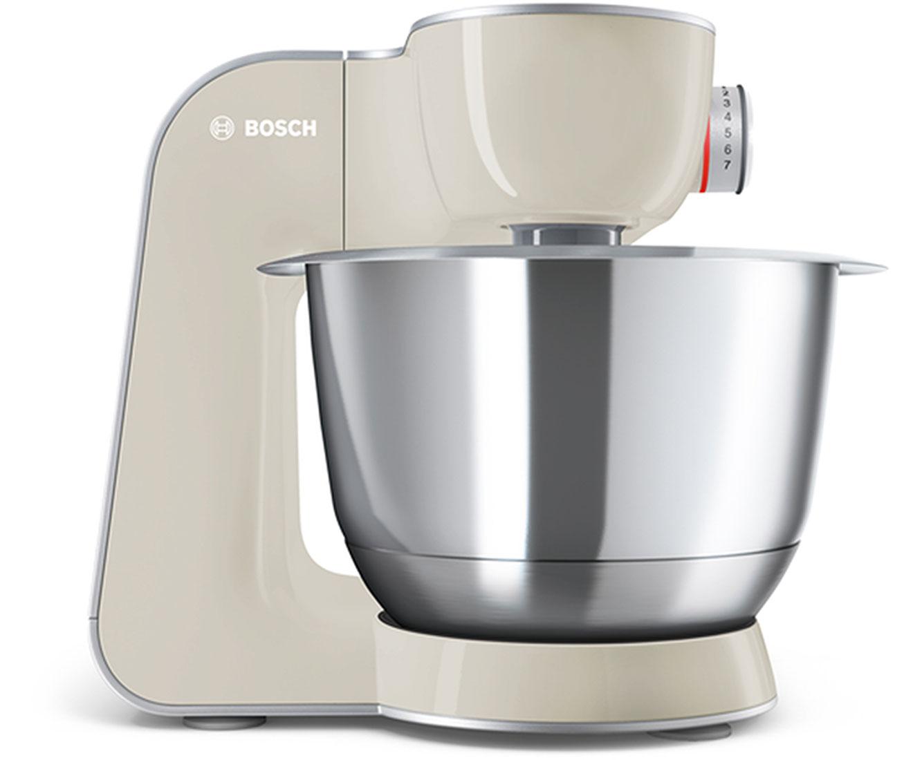 Bosch CreationLine MUM58L20 Küchenmaschine mit Durchlaufschnitzler ...